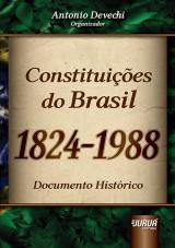Capa do livro: Constituições do Brasil, Organizador: Antonio Devechi