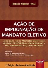 Capa do livro: Ação de Impugnação de Mandato Eletivo, Rodrigo Nóbrega Farias