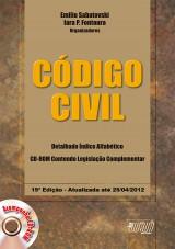 Capa do livro: Código Civil, Organizadores: Emilio Sabatovski e Iara P. Fontoura
