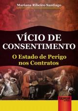 Capa do livro: Vício de Consentimento, Mariana Ribeiro Santiago