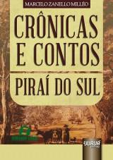 Capa do livro: Crônicas e Contos – Piraí do Sul, Marcelo Zanello Milléo