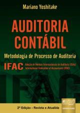 Capa do livro: Auditoria Contábil - Metodologia de Processo de Auditoria - IFAC, Mariano Yoshitake