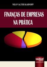 Capa do livro: Finan�as de Empresas na Pr�tica, Nilo Valter Karnopp