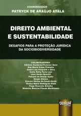 Capa do livro: Direito Ambiental e Sustentabilidade, Coordenador: Patryck de Araújo Ayala