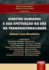 Capa do livro: Direitos Humanos e sua Efetivação na Era da Transnacionalidade - Debate Luso-Brasileiro, Coordenadores: Mário Ferreira Monte e Paulo de Tarso Brandão