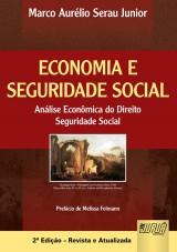 Capa do livro: Economia e Seguridade Social, Marco Aurélio Serau Junior