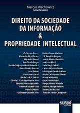 Capa do livro: Direito da Sociedade de Informação e Propriedade Intelectual, Coordenador: Marcos Wachowicz