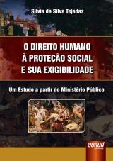 Capa do livro: Direito Humano à Proteção Social e sua Exigibilidade, O - Um Estudo a Partir do Ministério Público, Silvia da Silva Tejadas