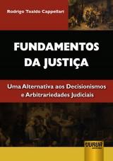 Capa do livro: Fundamentos da Justiça, Rodrigo Toaldo Cappellari