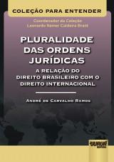 Capa do livro: Pluralidade das Ordens Jurídicas – A Relação do Direito Brasileiro com o Direito Internacional, André de Carvalho Ramos