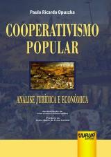 Capa do livro: Cooperativismo Popular – Análise Jurídica e Econômica, Paulo Ricardo Opuszka