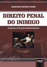 Capa do livro: Direito Penal do Inimigo, Francisco Muñoz Conde