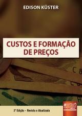 Capa do livro: Custos e Formação de Preços, Edison Küster