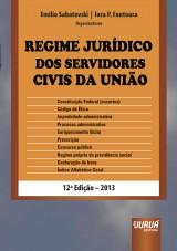 Capa do livro: Regime Jurídico dos Servidores Civis da União, Organizadores: Emilio Sabatovski e Iara P. Fontoura