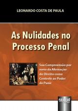 Capa do livro: Nulidades no Processo Penal, As, Leonardo Costa de Paula