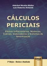 Capa do livro: Cálculos Periciais, Aderbal Nicolas Müller e Luis Roberto Antonik