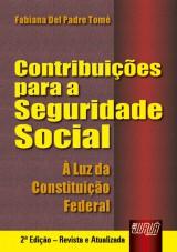Capa do livro: Contribuições para a Seguridade Social, Fabiana Del Padre Tomé
