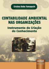 Capa do livro: Contabilidade Ambiental nas Organizações, Cristina Keiko Yamaguchi
