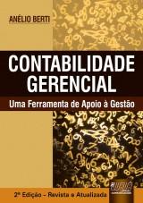 Capa do livro: Contabilidade Gerencial, Anélio Berti