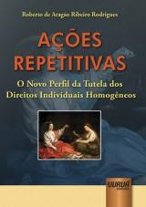 Capa do livro: Ações Repetitivas, Roberto de Aragão Ribeiro Rodrigues