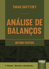 Capa do livro: Análise de Balanços - Método Prático, Taras Savytzky