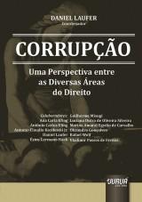 Capa do livro: Corrup��o - Uma Perspectiva entre as Diversas �reas do Direito, Coordenador: Daniel Laufer