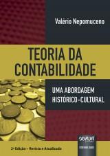Capa do livro: Teoria da Contabilidade - Uma Abordagem Histórico-Cultural, Valério Nepomuceno