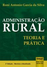 Capa do livro: Administração Rural, Roni Antonio Garcia da Silva