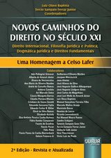 Capa do livro: Novos Caminhos do Século XXI, Coordenadores: Luiz Olavo Baptista e Tercio Sampaio Ferraz Junior
