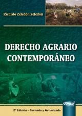 Capa do livro: Derecho Agrario Contemporáneo, Ricardo Zeledón Zeledón