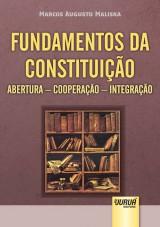 Capa do livro: Fundamentos da Constituição, Marcos Augusto Maliska