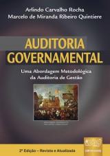 Capa do livro: Auditoria Governamental, Arlindo Carvalho Rocha e Marcelo de Miranda Ribeiro Quintiere