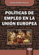 Capa do livro: Políticas de Empleo en la Unión Europea, Natalia Ordóñez Pascua