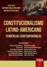Capa do livro: Constitucionalismo Latino-Americano, Coordenadores: Antonio Carlos Wolkmer, Milena Petters Melo