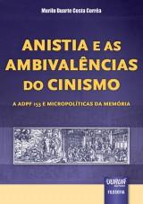 Capa do livro: Anistia e Ambivalências do Cinismo, Murilo Duarte Costa Corrêa