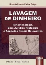 Capa do livro: Lavagem de Dinheiro, Romulo Rhemo Palitot Braga