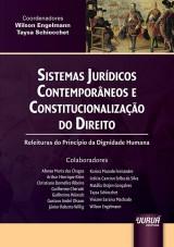 Capa do livro: Sistemas Jurídicos Contemporâneos e Constitucionalização do Direito, Coordenadores: Wilson Engelmann e Taysa Schiocchet