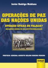 Capa do livro: Operações de Paz das Nações Unidas, Javier Rodrigo Maidana