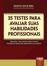 Capa do livro: 35 Testes para Avaliar suas Habilidades Profissionais, Ernesto Artur Berg