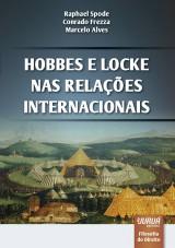 Capa do livro: Hobbes e Locke nas Relações Internacionais, Raphael Spode, Conrado Frezza e Marcelo Alves
