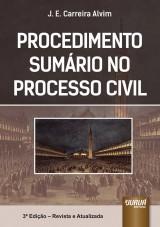 Capa do livro: Procedimento Sumário no Processo Civil, J. E. Carreira Alvim