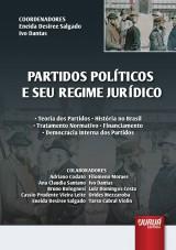 Capa do livro: Partidos Políticos e seu Regime Jurídico, Coordenadores: Eneida Desiree Salgado e Ivo Dantas