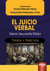 Capa do livro: El Juicio Verbal, David Vallespín Pérez