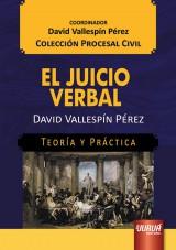 Capa do livro: El Juicio Verbal, David Vallespín Pérez