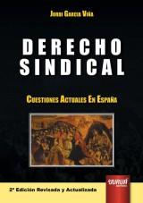 Capa do livro: Derecho Sindical, Jordi Garcia Viña