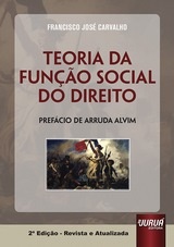 Capa do livro: Teoria da Função Social do Direito, Francisco José Carvalho