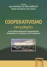 Capa do livro: Cooperativismo - Lei 5.764/71, José Henrique da Silva Galhardo e Paulo Gonçalves Lins Vieira