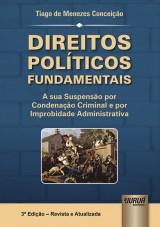 Capa do livro: Direitos Políticos Fundamentais, Tiago de Menezes Conceição