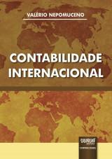 Capa do livro: Contabilidade Internacional, Valério Nepomuceno