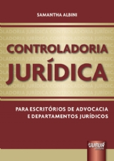 Capa do livro: Controladoria Jurídica, Samantha Albini